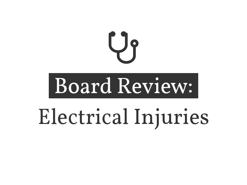 Electrical Injuries